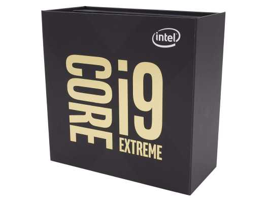 Intel Core i9-9980XE processor Shroud
