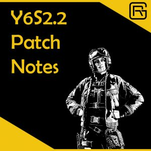 Rainbow Six Siege Y6S2.2 Patch Notes